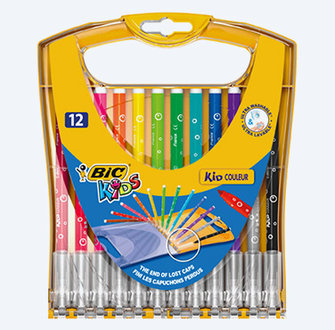 BIC KIDS KID COULEUR STAND CASE 12