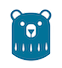BicShaveClub blue bear icon